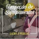 laudo de inspeção de equipamentos Mogi Guaçu