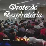 palestra de proteção respiratória Tietê
