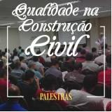 palestra de qualidade na construção civil Ourinhos