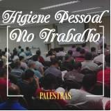 quanto custa palestra de higiene pessoal no trabalho Laranjal Paulista