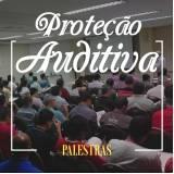 quanto custa palestra de proteção auditiva Peruíbe
