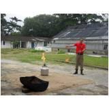 reciclagem para brigada de incêndio Cajamar